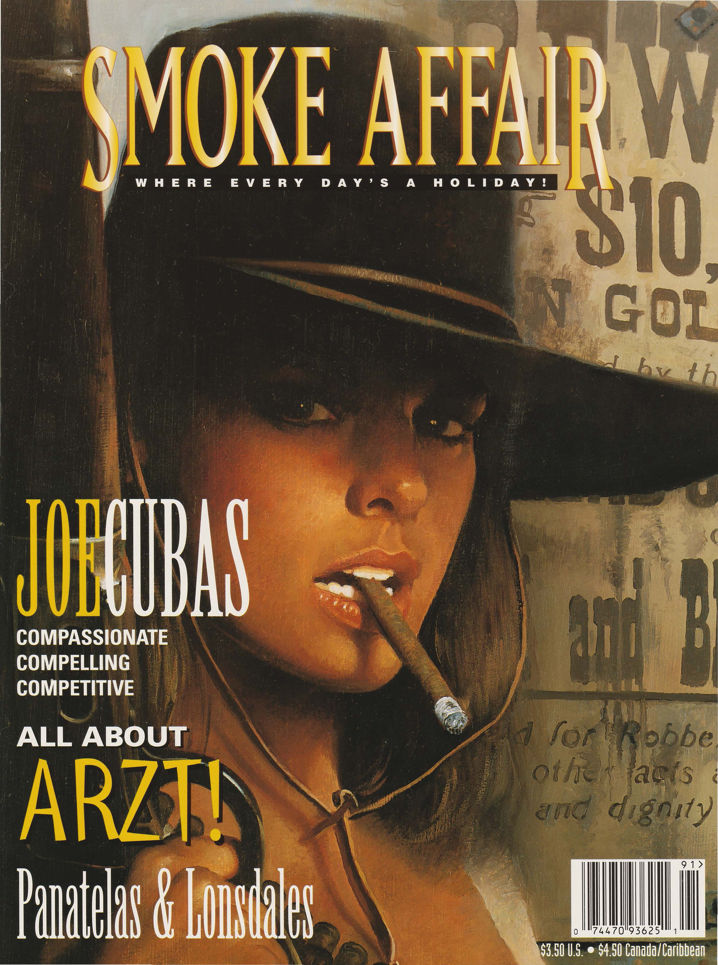Smoke Affair cover art by Ron Lesser - c2003